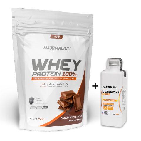 Paket Maximalium Whey 750g + L-carnitine 500ml