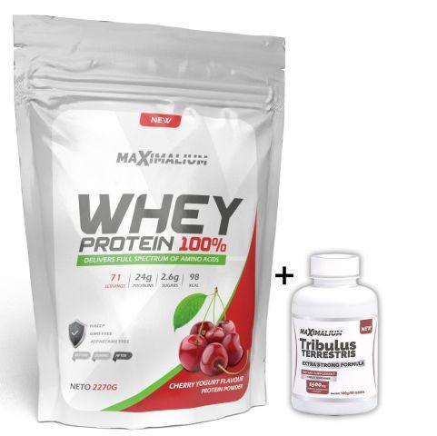 Paket Maximalium Whey protein 2,27kg + Tribulus Terestris 90tab.